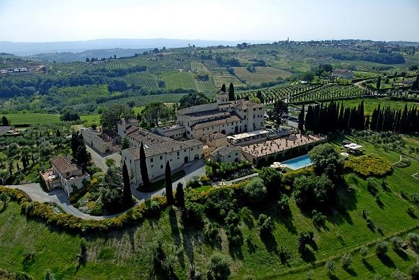 Castello del Nero - Vista aérea m