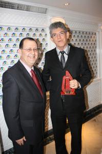 Presidente da Abav Nacional, Antonio Azevedo; e Governador da Paraíba, Ricardo Vieira Coutinho