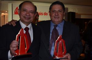 Antonio Américo, Diretor Comercial da Azul; e Antonio Bandeira, da Qatar