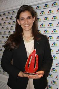 Laura Castagnini representando o Hotel Hilton Miraflores de Lima