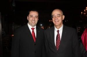 Renato Hagopian, Gerente de Vendas Brasil  da Qatar e Antonio Bandeira, Country Manager Latin America