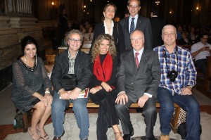 Em pé: Claudia Autieri e Francesco Paternó. Sentados: Márcia santos, Paulo Atzingen,Luciana Lana,Hans-Albert,  e Irineu