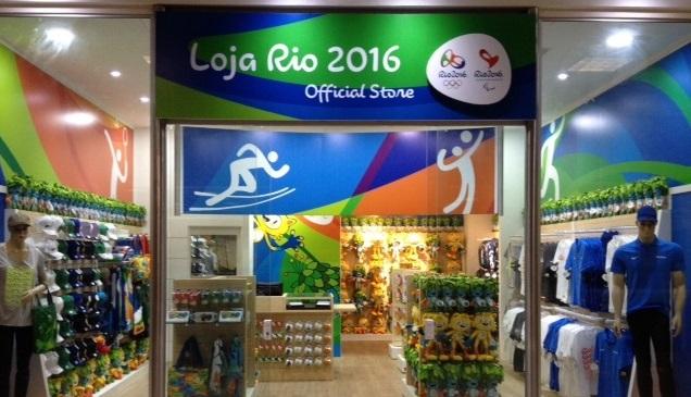 a80c4c87b Comitê Rio 2016 abre duas lojas oficiais - Brasil Travel News
