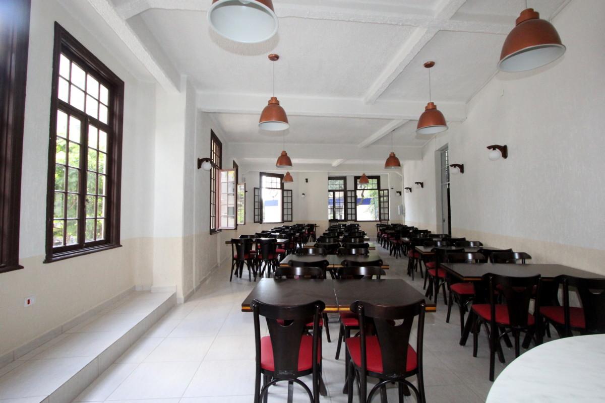 Salão do Restaurante Rio Mar
