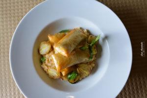 Sardinhas crocantes, o seu arroz com cebolinhas assadas (13)