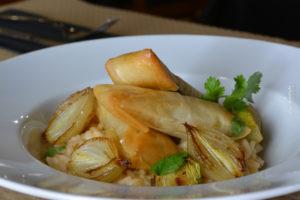 Sardinhas crocantes, o seu arroz com cebolinhas assadas (26)