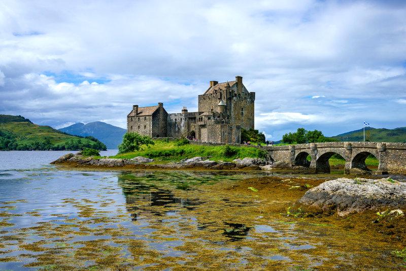 Castelo Eilean Donan, Terras Altas