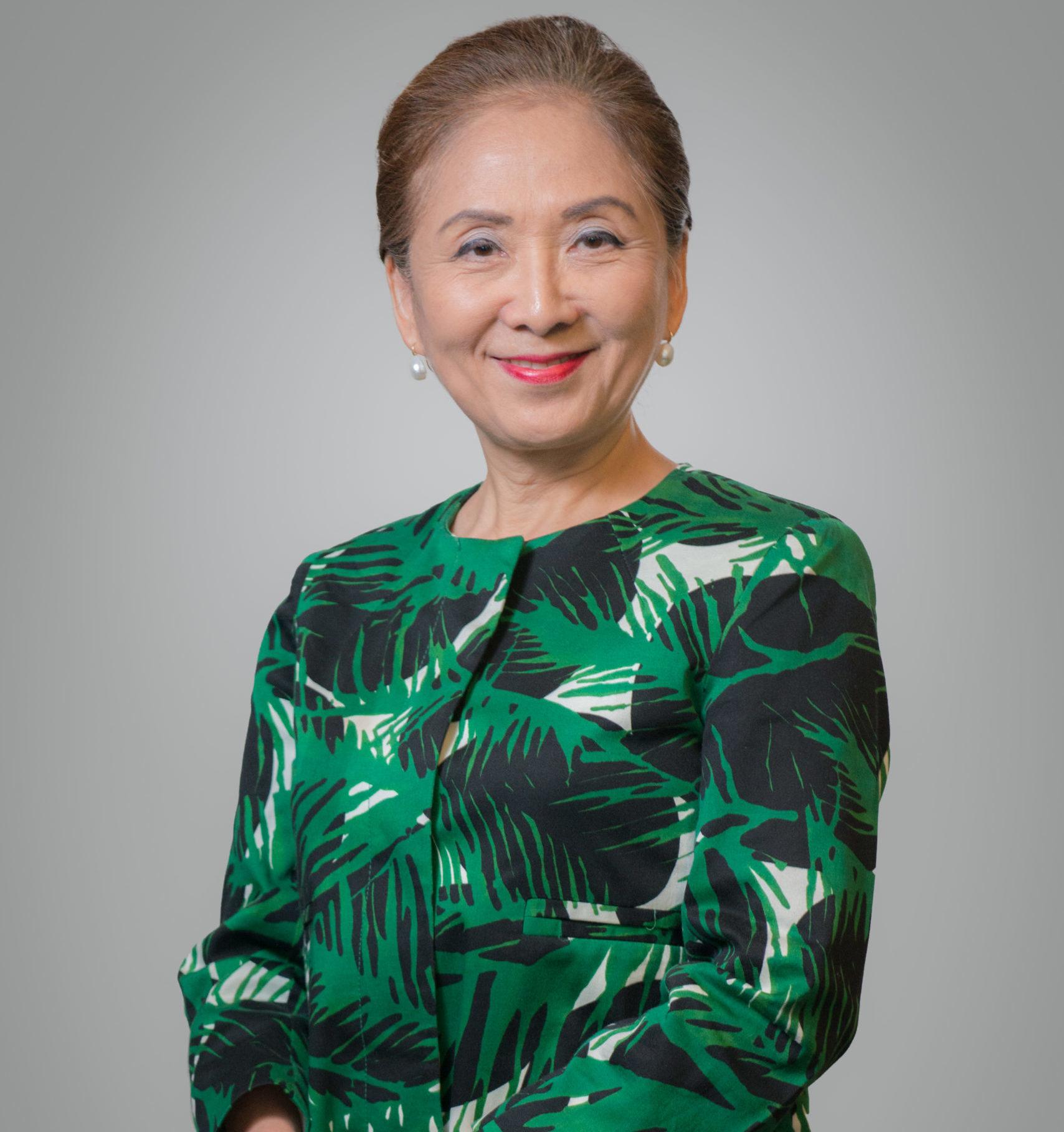 Chieko Aoki, dama da hotelaria, fundadora e presidente do Blue Tree Hotels.