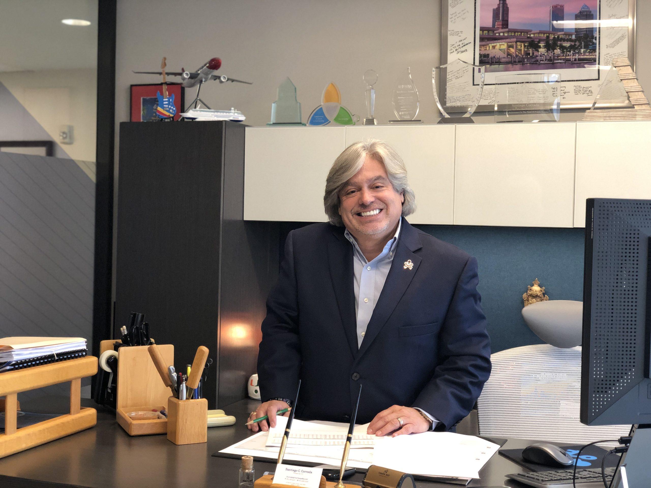 Santiago Corrada – Presidente e CEO do Visit Tampa Bay